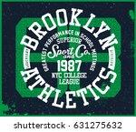 sport t shirt graphic | Shutterstock .eps vector #631275632