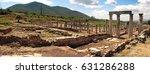 ancient messene  peloponnese ...   Shutterstock . vector #631286288