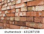 brick. | Shutterstock . vector #631287158