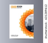 abstract flyer design... | Shutterstock .eps vector #631289612