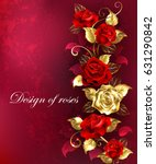 vertical composition of red and ...   Shutterstock .eps vector #631290842