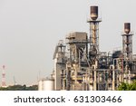 industrial view at oil refinery ... | Shutterstock . vector #631303466