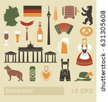 traditional symbols of culture  ... | Shutterstock .eps vector #631305608