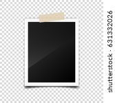 photo card frame film set.... | Shutterstock .eps vector #631332026