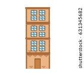 high building brick apartment