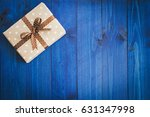 box in craft paper  eco paper... | Shutterstock . vector #631347998