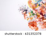wooden colorful pencil... | Shutterstock . vector #631352378
