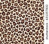 leopard seamless texture  fur... | Shutterstock . vector #631357832