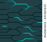 technology textured background | Shutterstock .eps vector #631361615