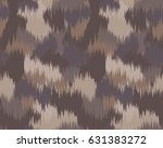 abstract camouflage pattern.... | Shutterstock .eps vector #631383272