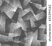 vector abstract stippled weird... | Shutterstock .eps vector #631394162