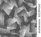 vector abstract stippled weird... | Shutterstock .eps vector #631394162