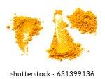 curcuma  turmeric  | Shutterstock . vector #631399136