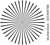 circular  radiating abstract... | Shutterstock .eps vector #631404788