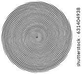 circular  radiating abstract... | Shutterstock .eps vector #631404938