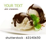 Ice Cream With Chocolate...