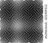 geometric black and white... | Shutterstock .eps vector #631409312