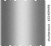 geometric black and white... | Shutterstock .eps vector #631409498