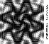 geometric black and white... | Shutterstock .eps vector #631409522
