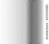geometric black and white... | Shutterstock .eps vector #631410482