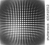 geometric black and white... | Shutterstock .eps vector #631410512