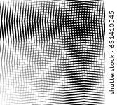 geometric black and white... | Shutterstock .eps vector #631410545