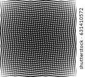 geometric black and white... | Shutterstock .eps vector #631410572