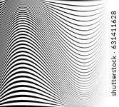 geometric black and white... | Shutterstock .eps vector #631411628