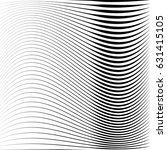 geometric black and white... | Shutterstock .eps vector #631415105