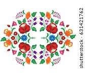hungarian folk art | Shutterstock .eps vector #631421762