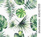 bright beautiful green herbal...   Shutterstock . vector #631427555