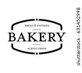 bakery vintage stamp sign | Shutterstock .eps vector #631452998