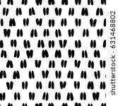 simple black grungy brush... | Shutterstock .eps vector #631468802