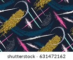 vector seamless pattern with... | Shutterstock .eps vector #631472162