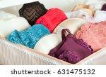 feminine lacy underwear stored... | Shutterstock . vector #631475132