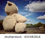 Teddy Bear Sitting Alone On Th...