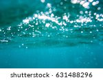 Water Bubbles In Underwater In...
