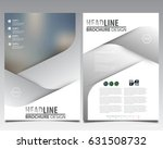 abstract vector modern flyers... | Shutterstock .eps vector #631508732