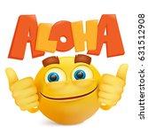 yellow smiley cartoon emoji... | Shutterstock .eps vector #631512908