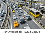 controlled access highway in... | Shutterstock . vector #631525076