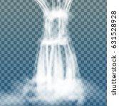 realistic transparent  nature ... | Shutterstock .eps vector #631528928