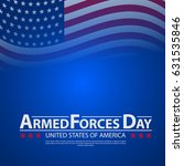 armed forces day template... | Shutterstock .eps vector #631535846
