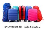 luggage consisting of large... | Shutterstock . vector #631536212