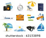 tourism icon   Shutterstock .eps vector #63153898