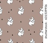 seamless pattern with french... | Shutterstock .eps vector #631539956
