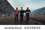 engineers discuss building of a ... | Shutterstock . vector #631558265