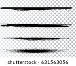 grunge paint stripe . vector... | Shutterstock .eps vector #631563056