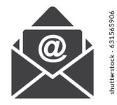 email solid icon  envelope and...