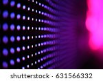 abstract led wall background  | Shutterstock . vector #631566332