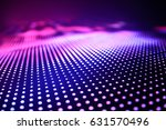 Small photo of Abstract Led wall background